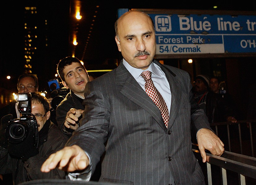 "Developer and political fundraiser Antoin ""Tony"" Rezko leaves federal court in Chicago in October 2006. - AP/NAM Y. HUH"