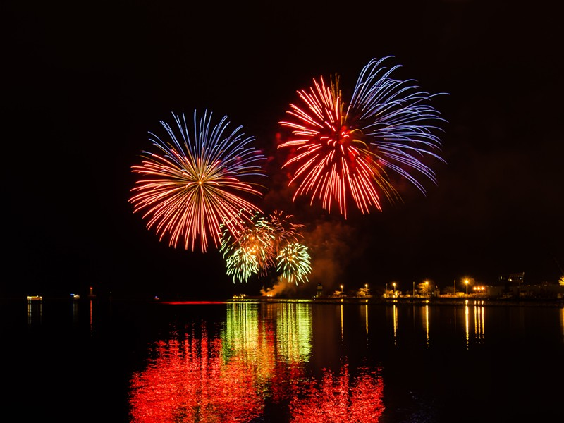 Celebrate America's independence with a bang at Navy Pier on July 2 and 4. - SUN-TIMES MEDIA