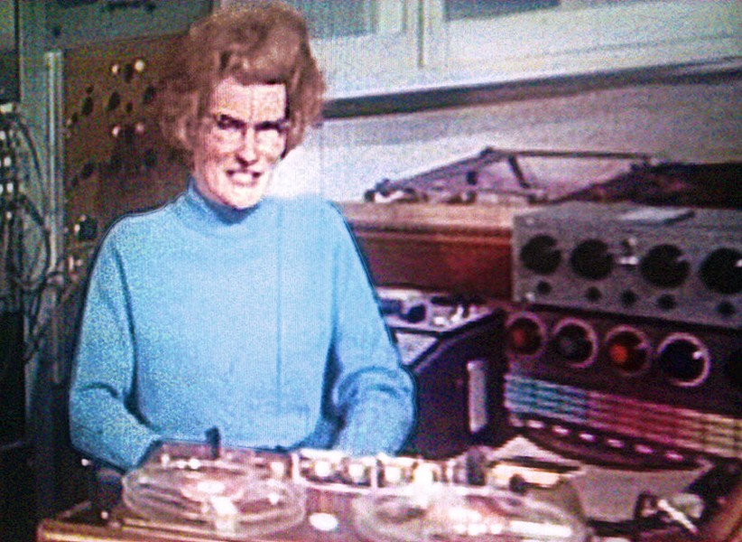 Daphne Oram, cofounder in 1958 of the BBC's Radiophonic Workshop and namesake of Daphne: A Women's Movement in Dance Music - PAUL DOWNEY / CREATIVE COMMONS