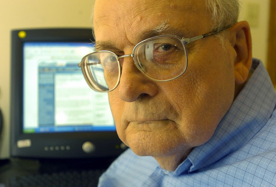 William Gaines in 2005 - ANDY LAVLLEY/POST-TRIBUNE