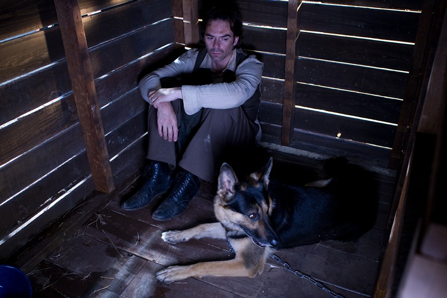 Billy Crudup and a German shepherd in David and Goliath - COURTESY DOG FILM FESTIVAL