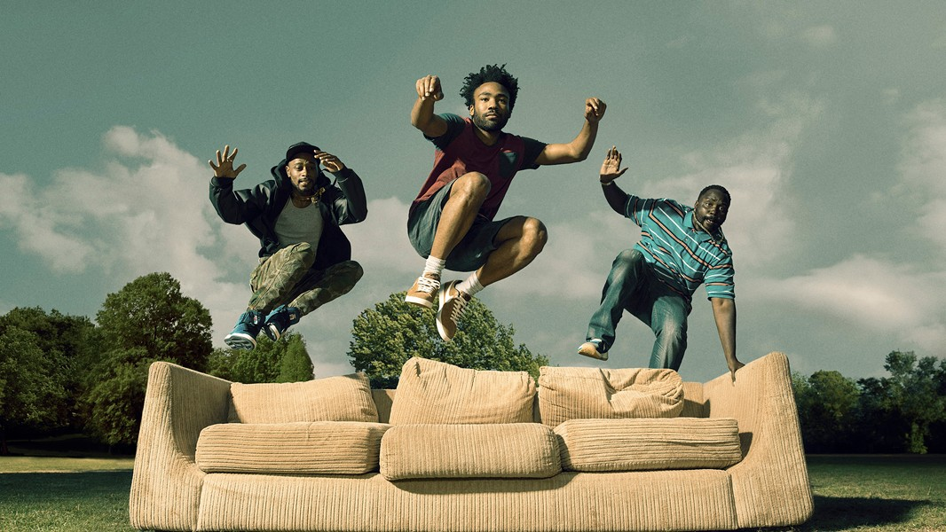 Keith Stanfield, Donald Glover, and Brian Tyree Henry star in Atlanta. - FX NETWORKS