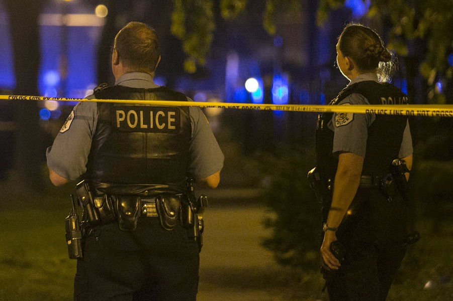 CPD officers on the scene - SUN-TIMES MEDIA