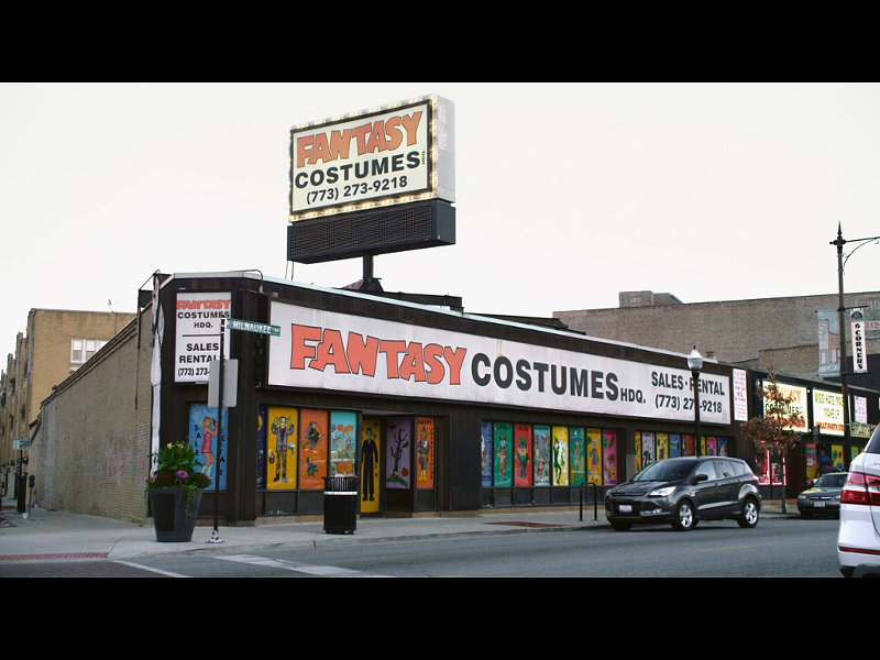 Fantasy Costumes in Portage Park