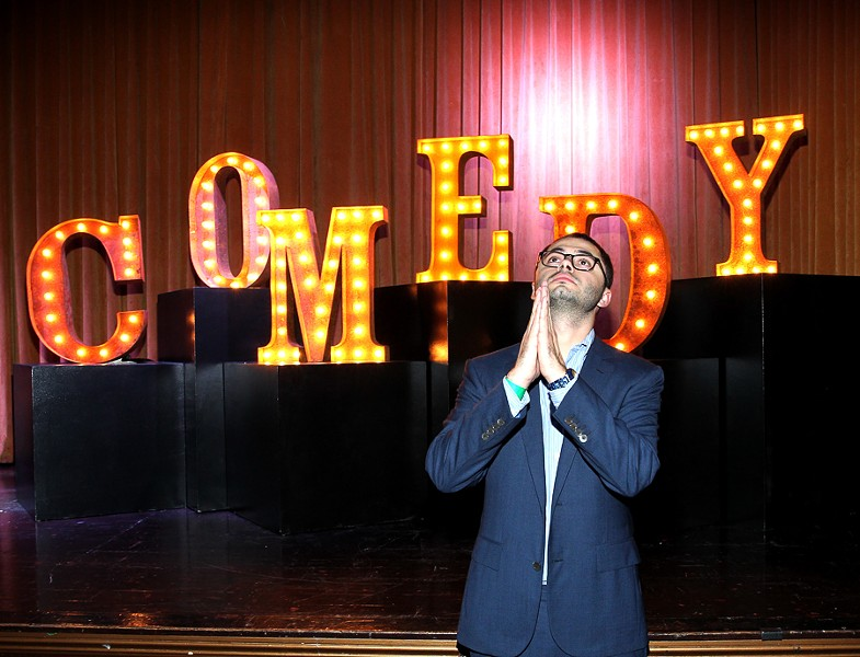 Joe Mande comes to Chicago with his Autumn Sixteen tour. - GETTY IMAGES FOR VARIETY