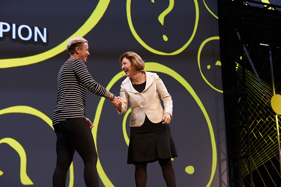 Abby Wambach and Anne-Marie Slaughter - CHICAGO IDEAS