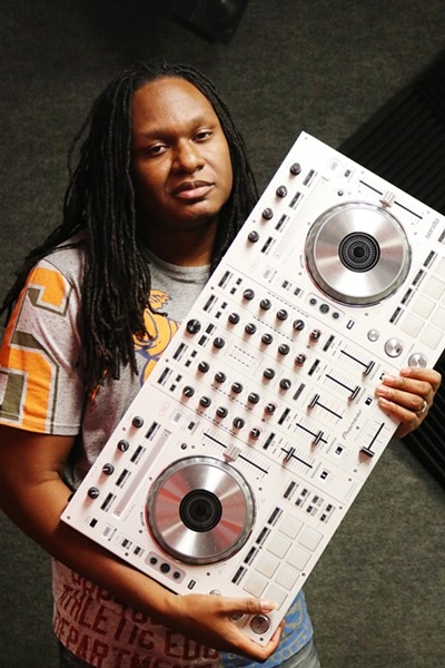 DJ Nehpets joined Power 92 as an on-air personality in 2015, after 12 years of guest mixing for the station. - MORGAN ELISE JOHNSON