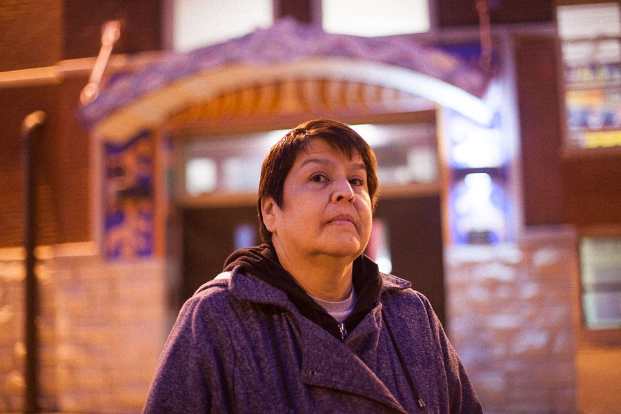 """Yolanda Lopez of Pilsen: """"I was a little iffy, but if we don't come out to vote then we don't have the right to complain."""" - DANIELLE A. SCRUGGS"""