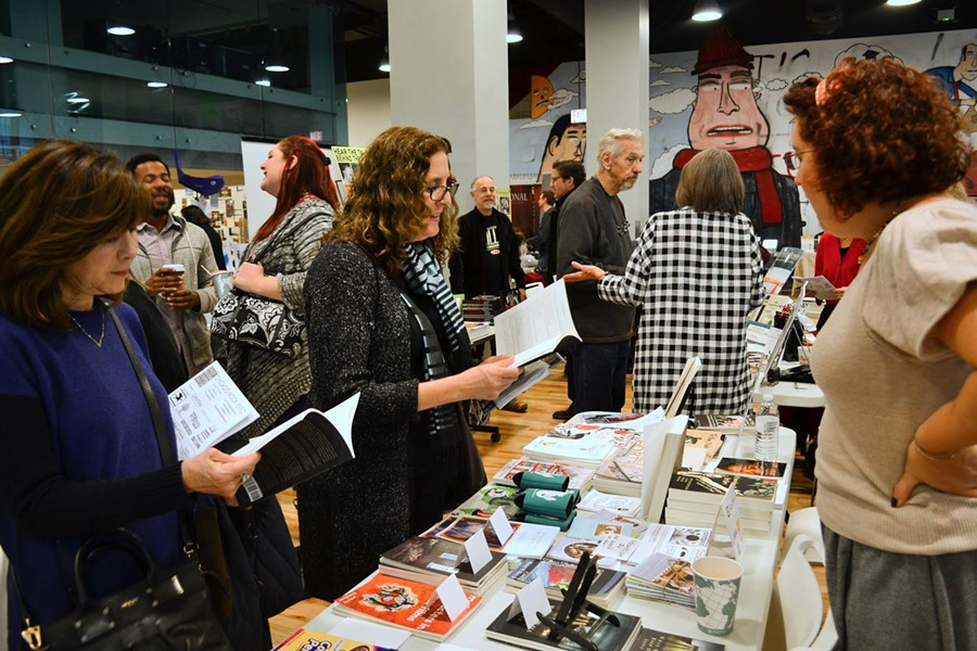 The Chicago Book Expo features a full day of books from local presses, programs, readings, workshops, panels, and more. - SEDONA BARNEY