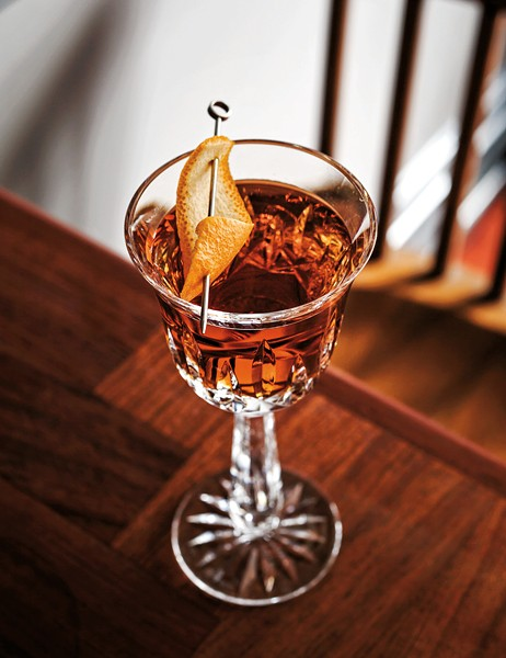 The Victorian at Billy Sunday is made with Amaro Sibilia