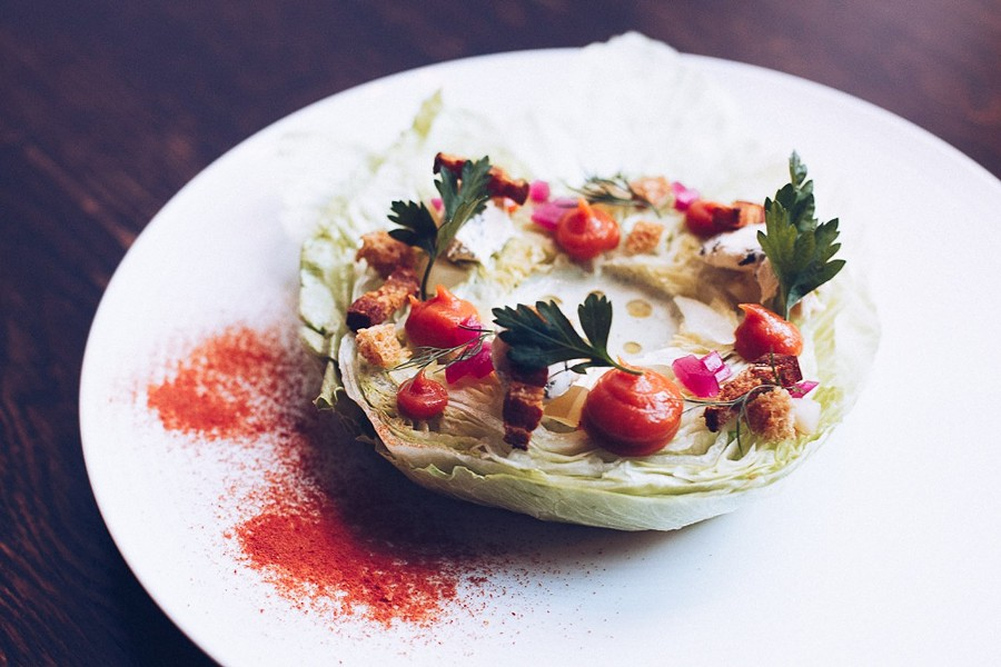 Wedge salad, Entente - DANIELLE A. SCRUGGS