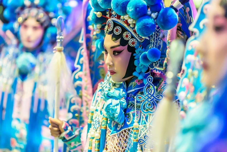 The Chinese National Peking Opera kicks off the Art Institute of Chicago's Lunar New Year Celebration on Sat 1/28. - AMANDA BENSON