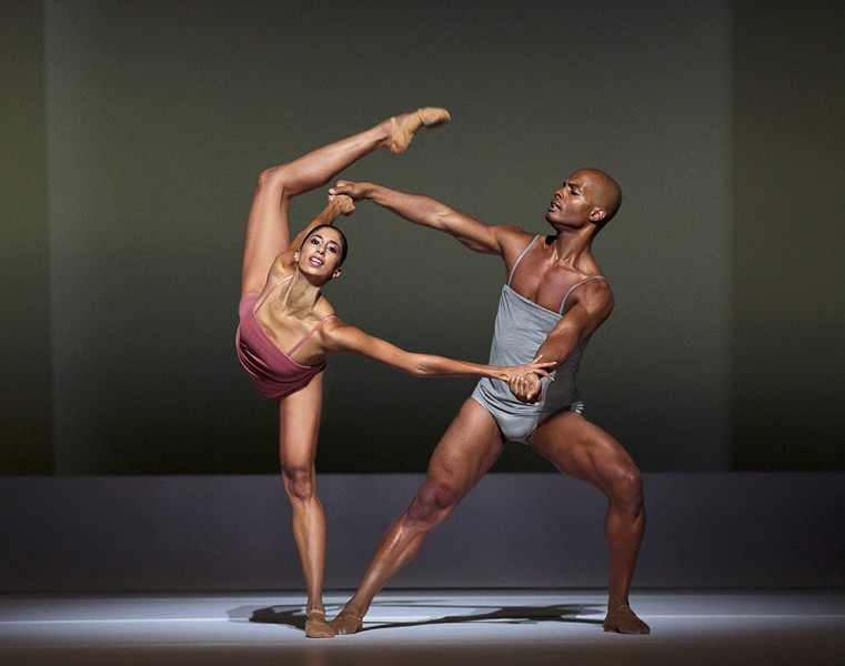Famed dance company Alvin Ailey performs at the Auditorium Theatre 3/22-3/36. - SUN-TIMES MEDIA
