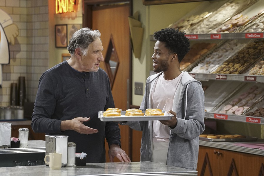 Judd Hirsch and Jermaine Fowler in Superior Donuts - CBS