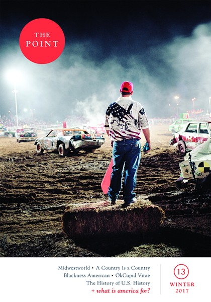 The cover of issue 13 of The Point - COURTESY THE POINT