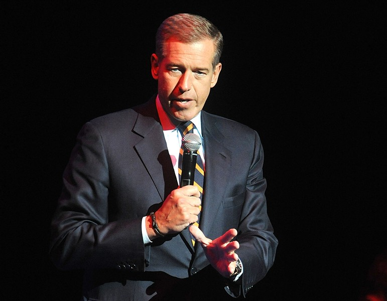 Brian Williams pictured in 2014 - AP/BRAD BARKET