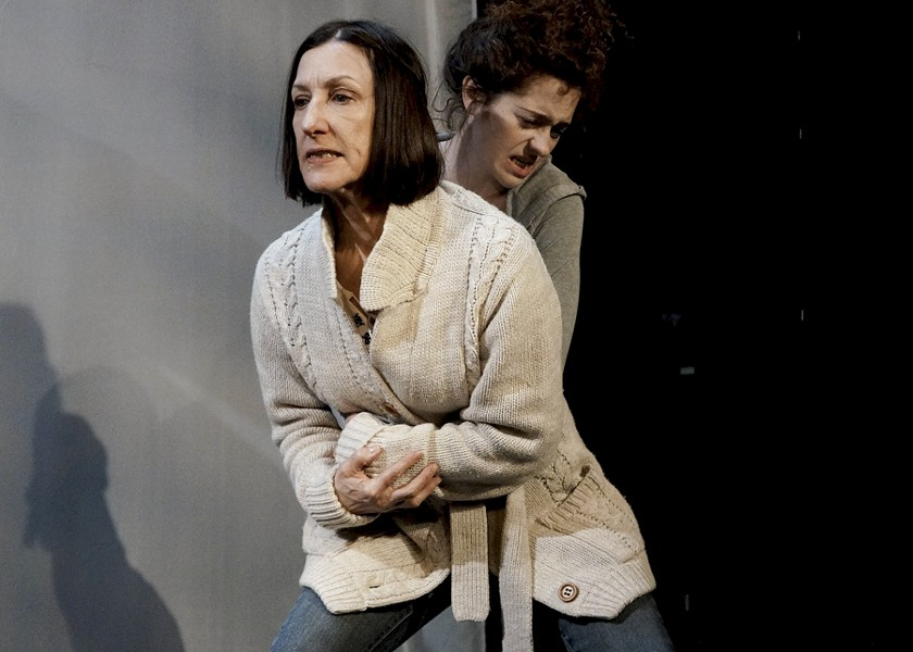 Julie Proudfoot and Sarah Wisterman in Artemisia's Visiting - KAT TUSHIM