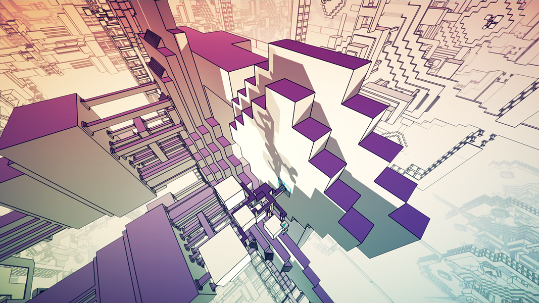 Play Manifold Garden at the Bit Bash Takeover from Thu 5/11-Sat 5/13. - WILLIAM CHYR