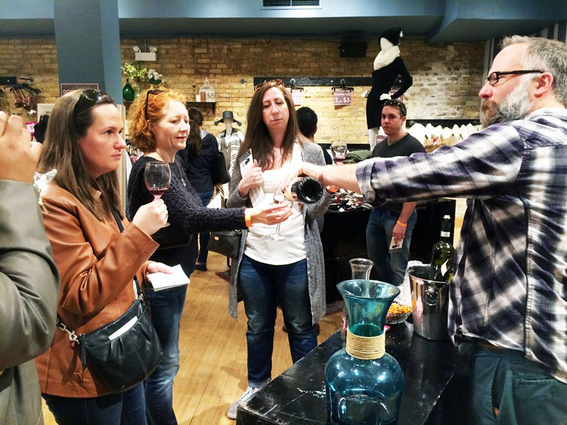 Drink your way through Andersonville during the neighborhood's Wine Walk on Sun 5/21. - COURTESY THE ANDERSONVILLE CHAMBER OF COMMERCE