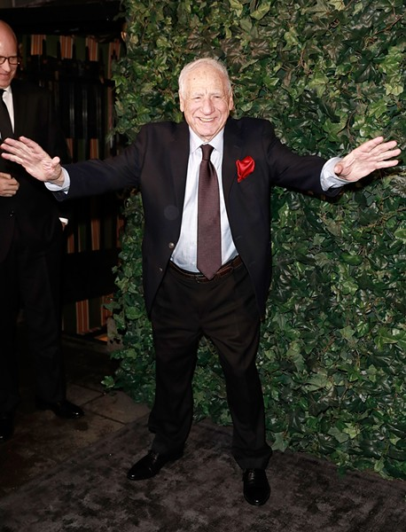 Mel Brooks hosts a screening of Young Frankenstein at the Chicago Theatre on Sat 5/27. - JOHN PHILLIPS/GETTY IMAGES