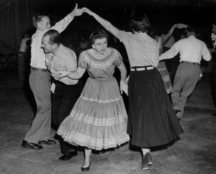 Swing your partner right round, baby, right round Chicago Barn Dance Company on Mon 6/5. - RALPH WALTERS