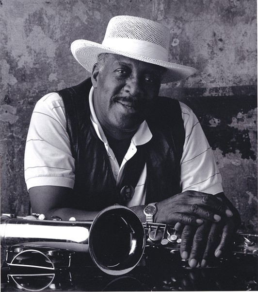 Eddie Shaw - COURTESY CHICAGO DCASE