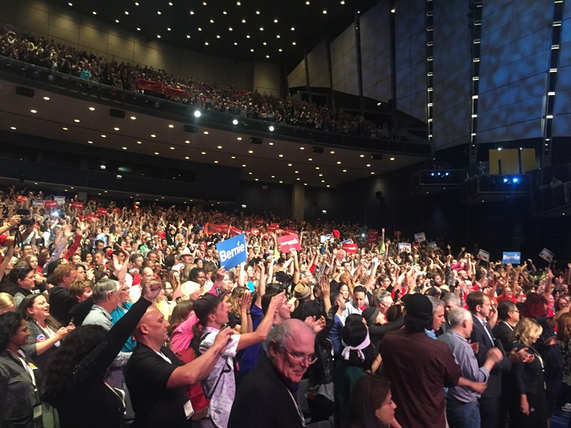 About 4,000 progressive activists and organizers attended last week's People's Summit at McCormick Place. - RYAN SMITH