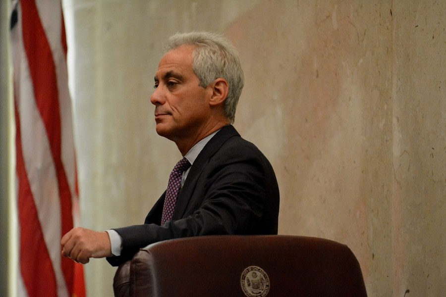 Mayor Rahm Emanuel at a Chicago City Council meeting - BRIAN JACKSON/FOR THE SUN-TIMES