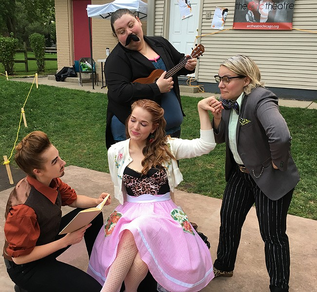 The Taming of the Shrew, at Shakespeare on the Ridge - COURTESY ARC THEATRE