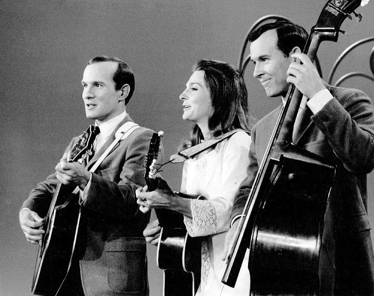 Dickie Smothers (right), half of the vaunted Smothers Brothers comedy duo, headlines the iO Musical Improv Festival, which starts Thursday 8/17. - CBS TELEVISION
