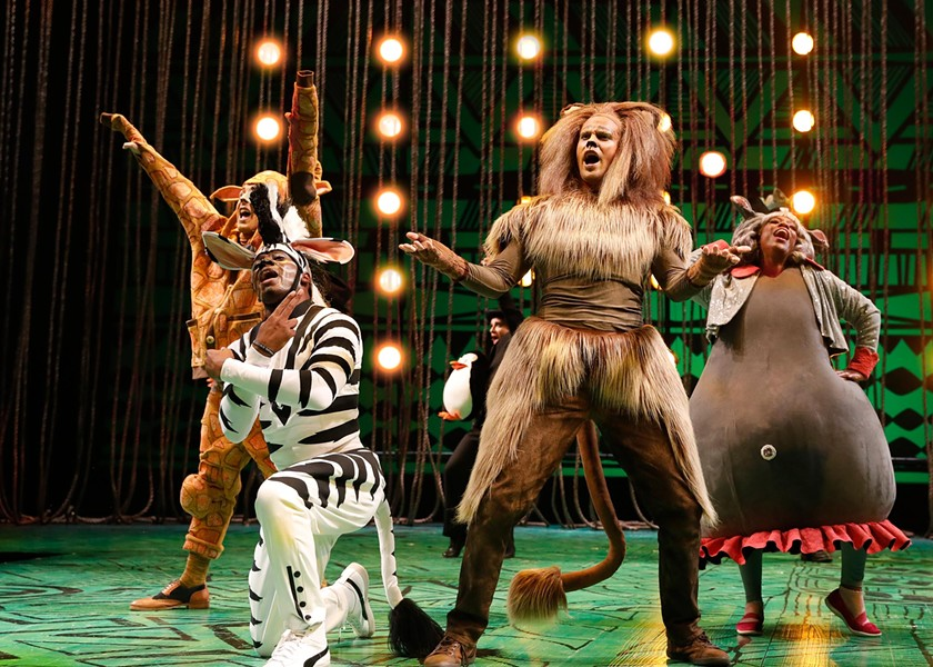 Chicago Shakespeare Theater's Madagascar - LIZ LAUREN
