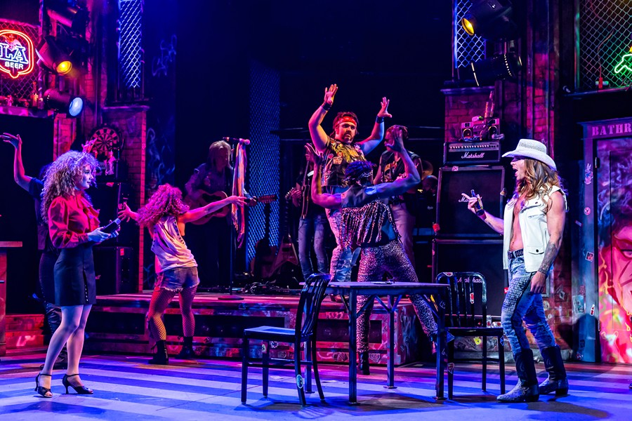Drury Lane Theatre's Rock of Ages - BRETT BEINER