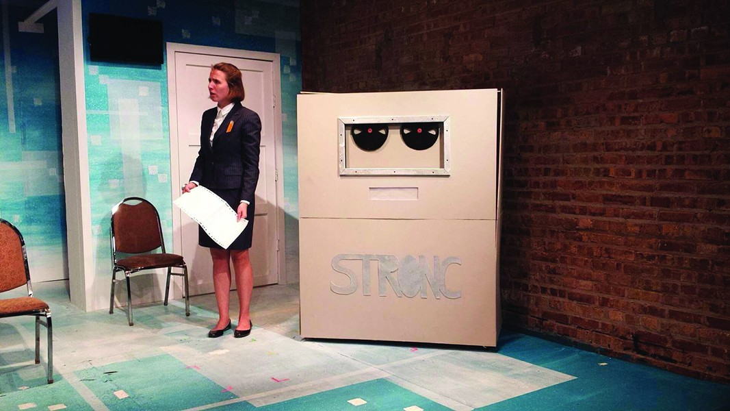 The Funny Papers, at Prop Thtr - JAMES TENIYA