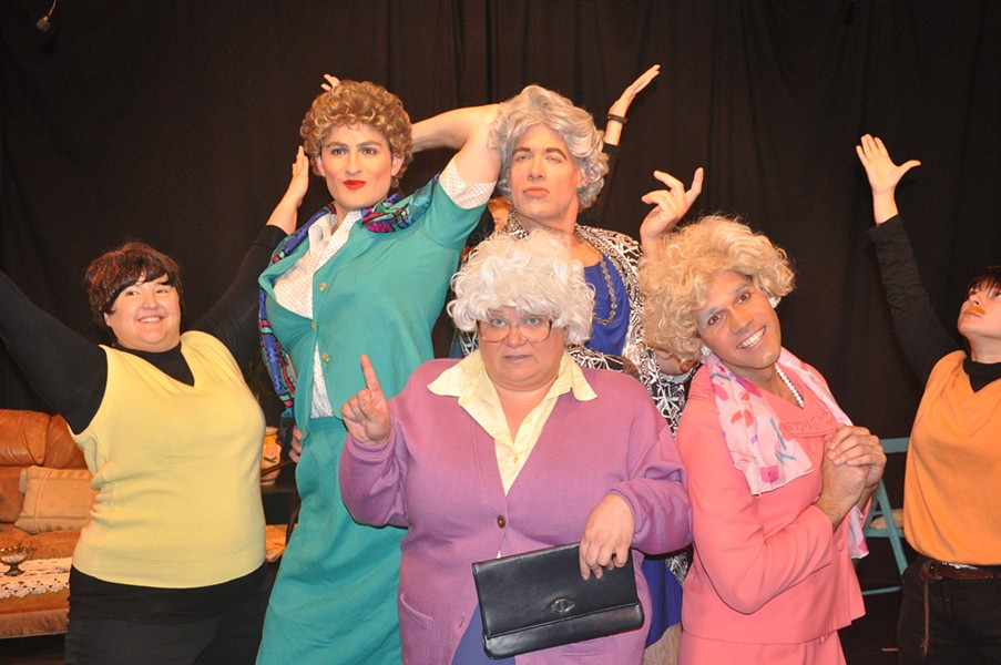 Picture It! A Golden Girls Musical, at MCL - MICHAEL SHEPHERD JORDAN