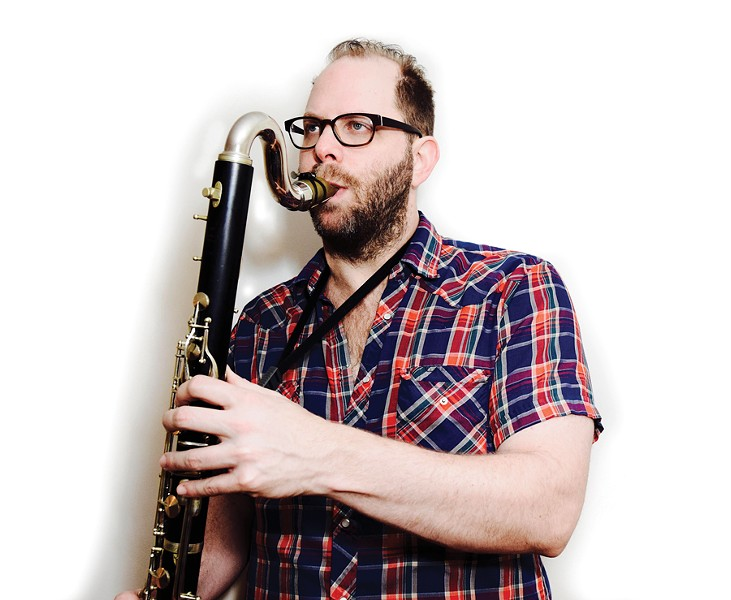 The new Lucille! is a leap forward for Jason Stein, who began by taking a leap—he picked up the bass clarinet at age 22 and played his first show with it that week. - SHEA WHINNERY