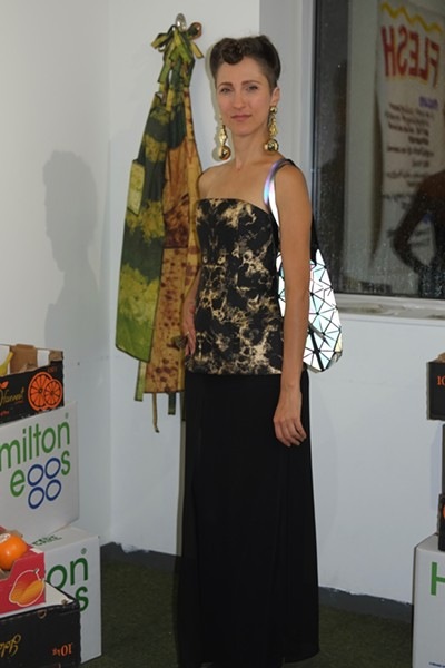 Activist and artist Jenny Kendler, whose work focuses on environmental issues - ISA GIALLORENZO