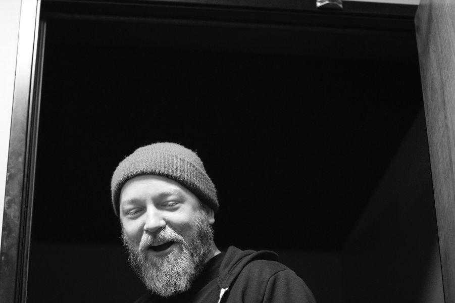 Stand-up Kyle Kinane performs at Thalia Hall on Tuesday 11/21. - COURTESY OF THALIA HALL