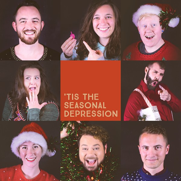 GayCo Productions' 'Tis the Seasonal Depression - LAUREL POSAKONY