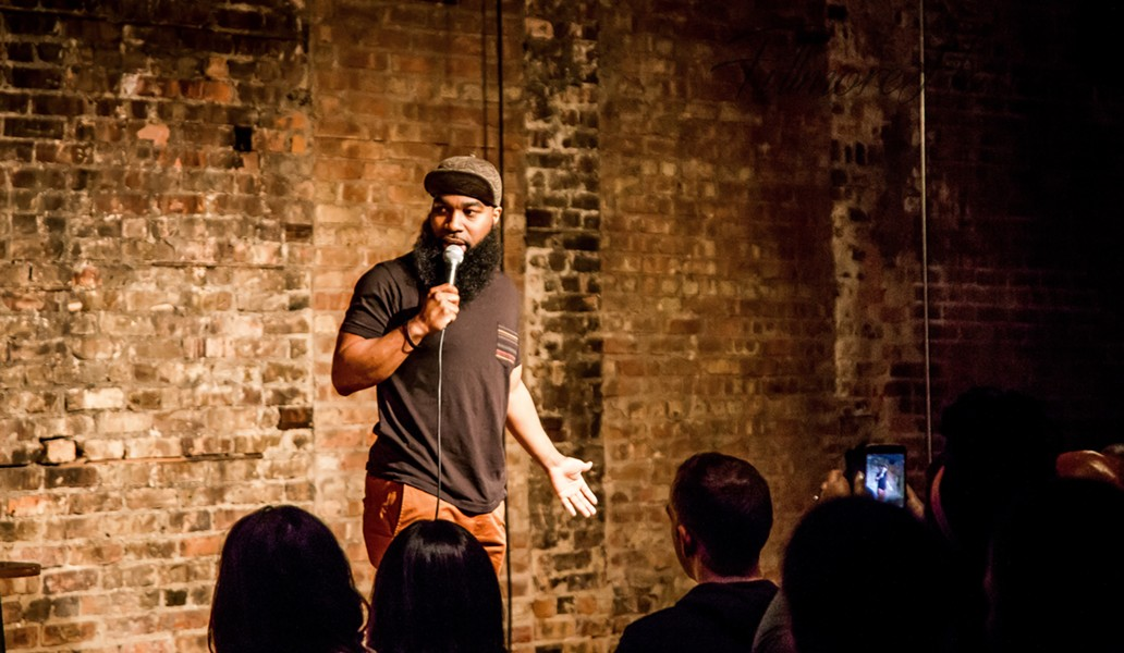 T. Murph, a rising star in the Chicago stand-up scene, hosts Faded on Saturday 12/2. - COURTESY OF ARTIST