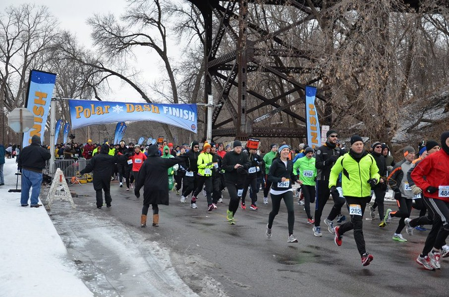 Layer up for the Chicago Polar Dash Sat 1/6. - WORLD'S MARATHONS