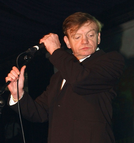 Mark E. Smith at the Hammersmith Palais in London in 2007 - JIM DYSON/GETTY IMAGES