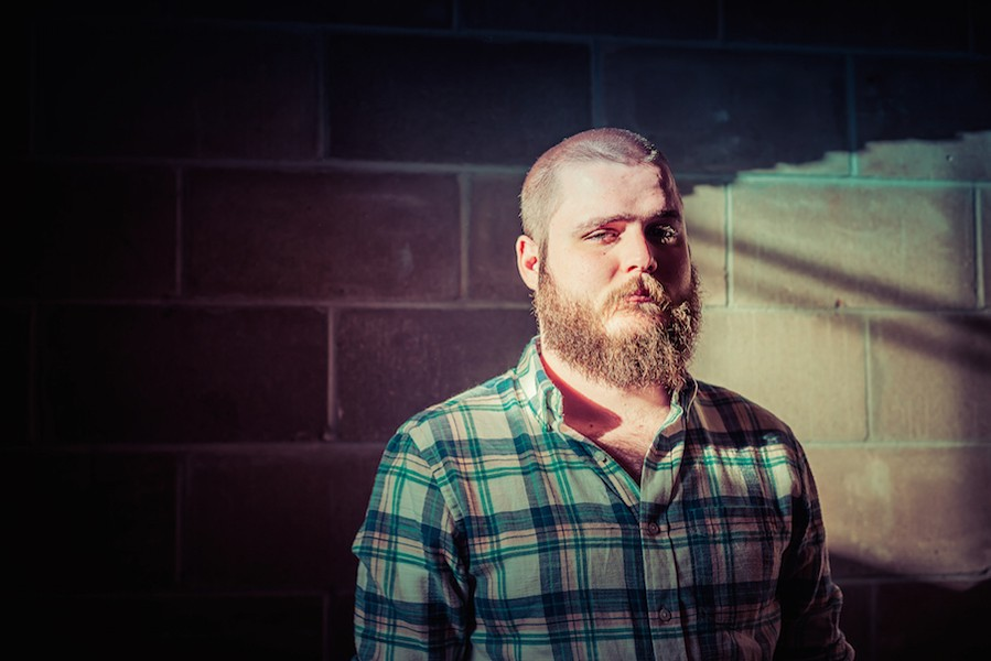 YouTube slam poet Neil Hilborn appears at Logan Square Auditorium on Thu 2/15. - EMILY VAN COOK