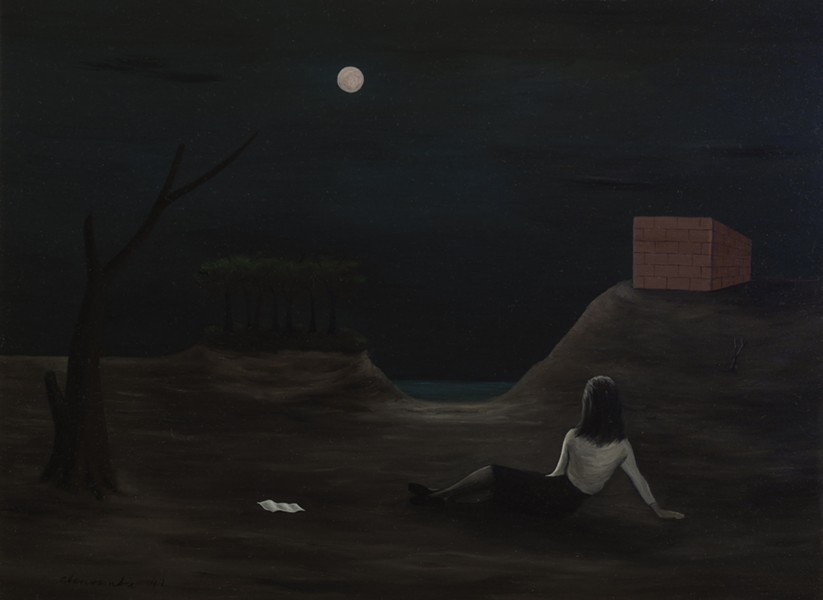 Gertrude Abercrombie, Reverie, 1947 - ILLINOIS STATE MUSEUM