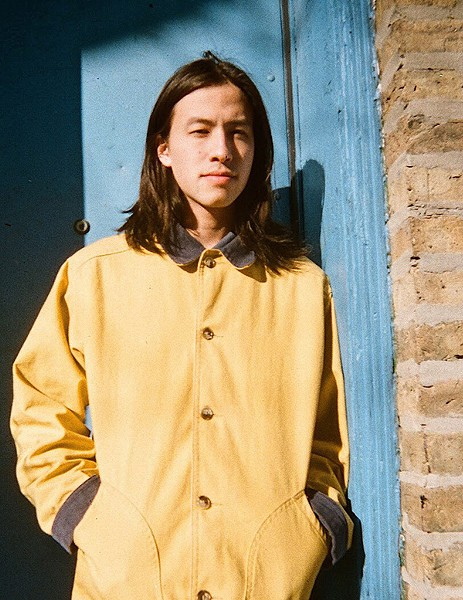 Sen Morimoto, a Chicago multi-instrumentalist, singer, and rapper who produces his own music - KAINA CASTILLO