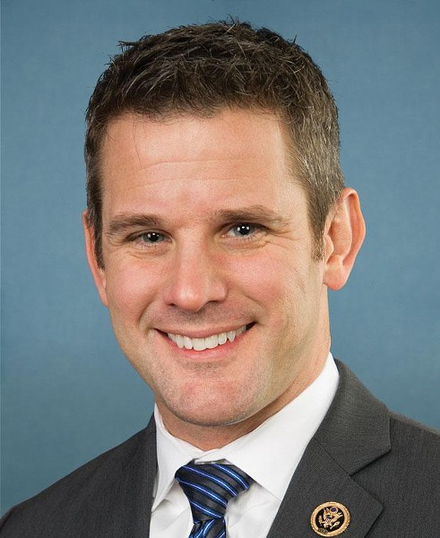 Republican congressman Adam Kinzinger of the 16th District