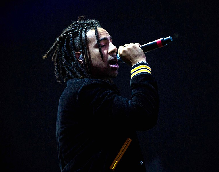 Vic Mensa at last year's Lollapalooza - SANTIAGO COVARRUBIAS / FOR THE SUN-TIMES