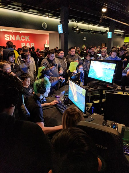 """Hundreds paid to watch Tyler """"Ninja"""" Blevins play Fortnite at Ignite Gaming Lounge in Avondale. - ID TECH CAMPS"""