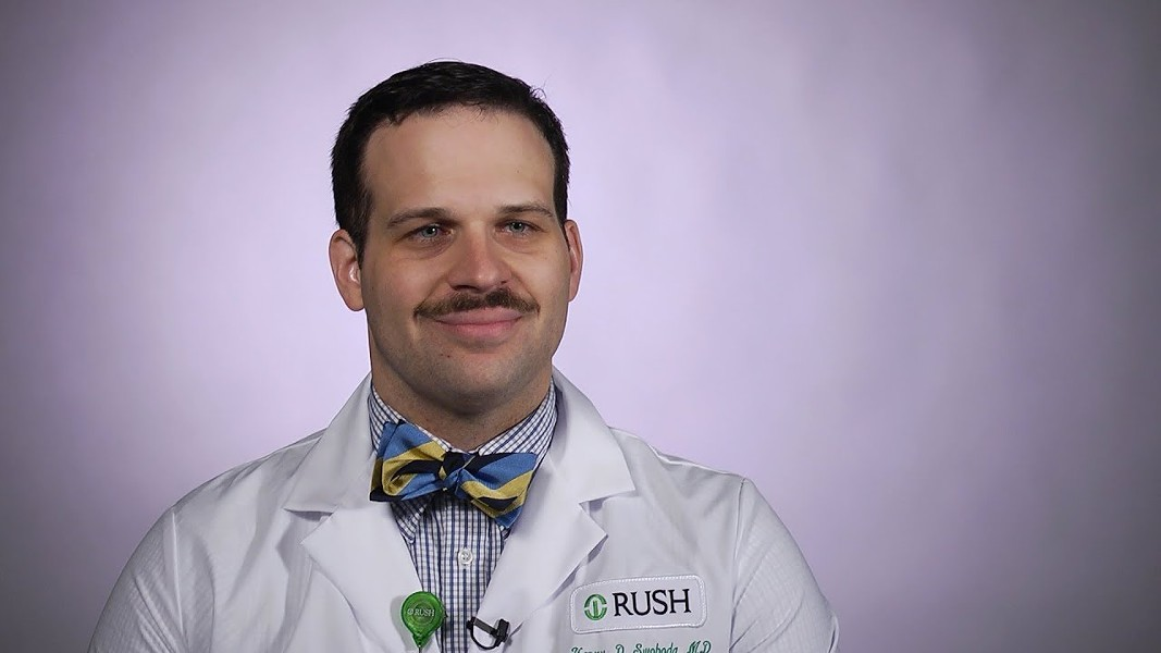 Dr. Henry Swoboda, medical toxicology specialist at Rush University Medical Center - YOUTUBE