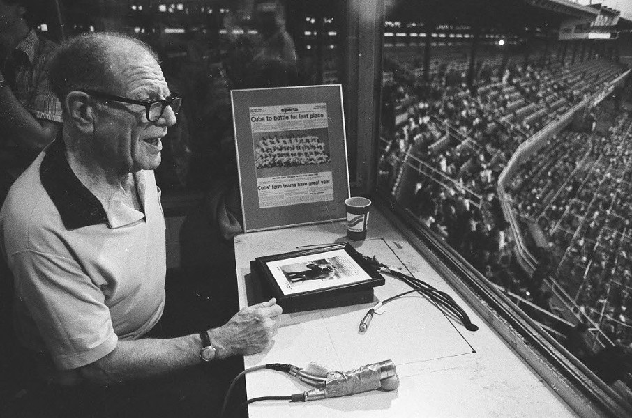 Bill Veeck at Comiskey Park, 1980 - CHICAGO SUN-TIMES