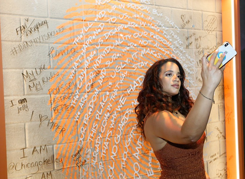 Orange Is the New Black star Dascha Polanco at Refinery 29's 29Rooms - JEFF SHEAR/GETTY IMAGES